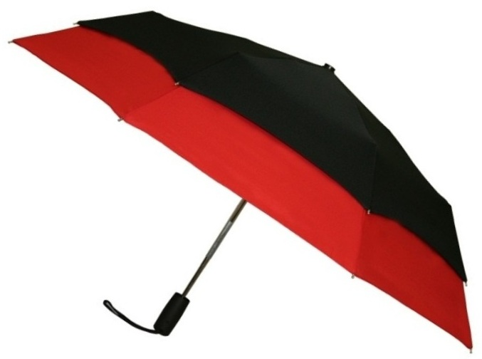 Leighton falcon umbrella automatic open windefyer wind for Wind resistant material