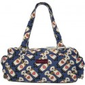 Bungalow360 Vegan Canvas Blue Sea Otter Print Satchel Bag