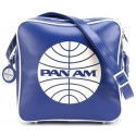 Pan Am Blue Innovator Crossbody Satchel Bag