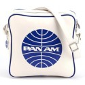 Pan Am Vintage White Innovator Crossbody Satchel Bag