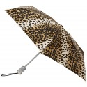 Totes Leopard Print Automatic Open Umbrella