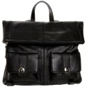 Lodis Black Maggie Tab Chic Backpack