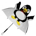 Children's Black & White Penguin Umbrella