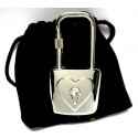 Crystal Purse Lock Key Clip