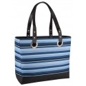 Thermos Blue Striped Raya 24 Can Cooler Tote Bag