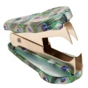 Peacock Animal Print Staple Remover