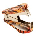 Tiger Animal Print Staple Remover