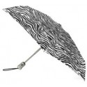Totes Zebra Print Automatic Open Umbrella