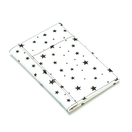 SilverHooks White with Black Stars Passport Cover at Sears.com